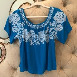 Izzy and Lola Embroidered Top